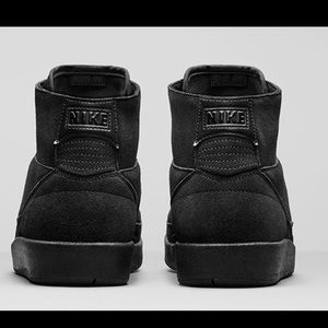 568076a3449266 Nike Shoes - Nike Air Jordan 2 Retro Decon Triple Black